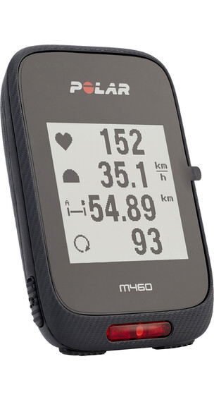 Polar M460 GPS Fahrradcomputer schwarz